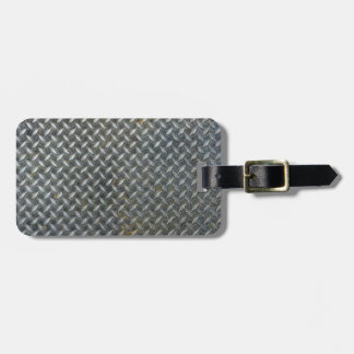 Grunge Metal Grate Luggage Tag