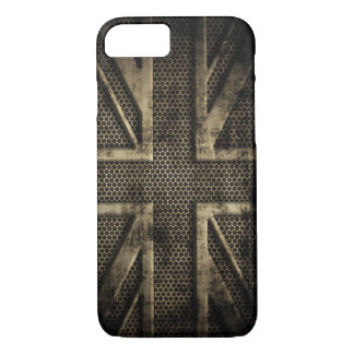 Grunge Metal Union Jack iPhone 7 Case