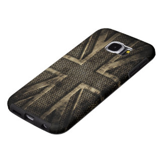 Grunge Metal Union Jack Samsung Galaxy S6 Cases