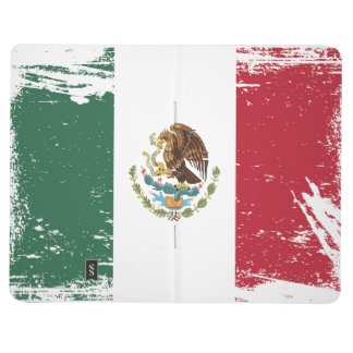 Grunge Mexico Flag Journal