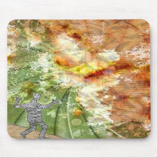 Grunge Mummy Mouse Pad