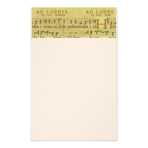 Grunge music stationery paper