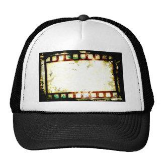 Grunge Negative Film Cap