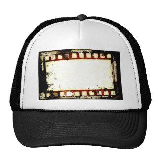 Grunge Negative Film Strip Trucker Hat