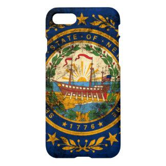 Grunge New Hampshire Flag iPhone 7 Case
