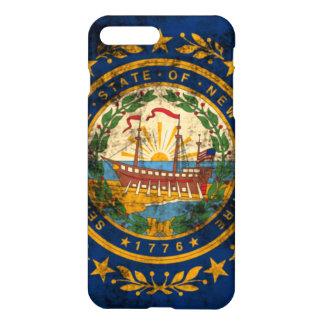 Grunge New Hampshire Flag iPhone 7 Plus Case