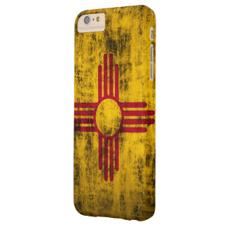 Grunge New Mexico Flag Barely There iPhone 6 Plus Case