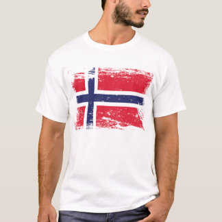 Grunge Norway Flag T-Shirt