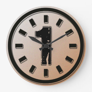 GRUNGE NUMBER 1 WALL CLOCKS