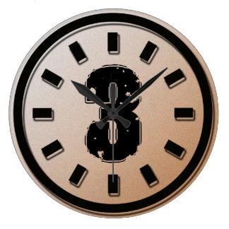 GRUNGE NUMBER 3 CLOCKS