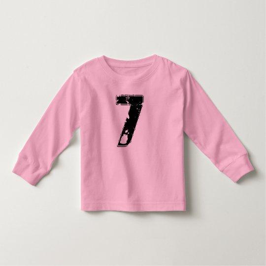 GRUNGE NUMBER 7 TODDLER T-Shirt