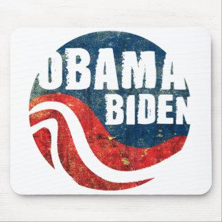 Grunge Obama Biden Mousepad