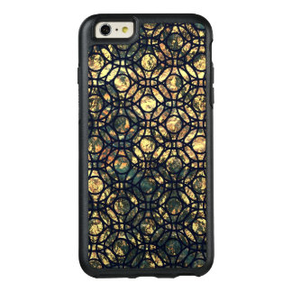Grunge Oil and Water Olive Marbled Metallic Foil OtterBox iPhone 6/6s Plus Case