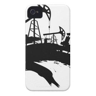Grunge Oil Pump iPhone 4 Case-Mate Cases