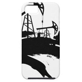 Grunge Oil Pump iPhone 5 Case