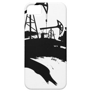 Grunge Oil Pump iPhone 5 Covers