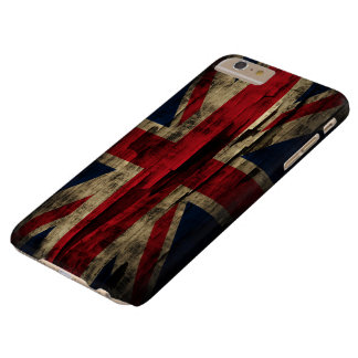 Grunge Paint United Kingdom Flag Barely There iPhone 6 Plus Case