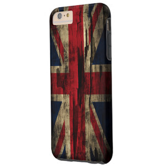 Grunge Paint United Kingdom Flag Tough iPhone 6 Plus Case
