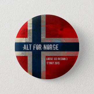 Grunge Painterly Theme Gifts 6 Cm Round Badge