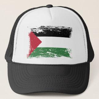 Grunge Palestine Flag Trucker Hat