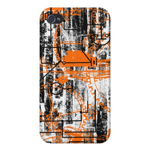 Grunge Pattern 60 Cover For iPhone 4