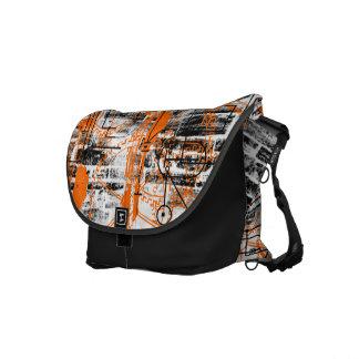 Grunge Pattern 60 Messenger Bags