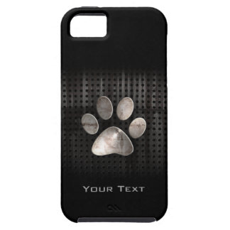 Grunge Paw Print iPhone 5 Cover