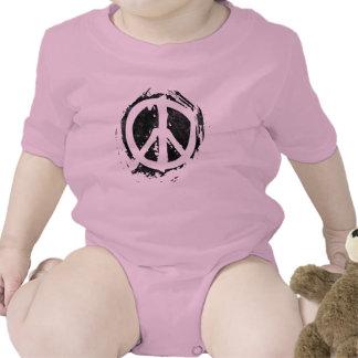 Grunge Peace Symbol Bodysuit