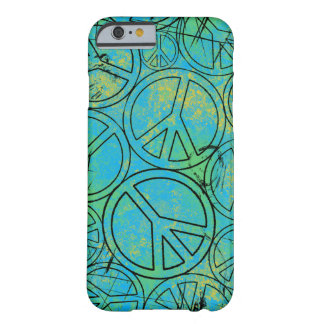 GRUNGE PEACES iPhone 6 Case Barely There iPhone 6 Case