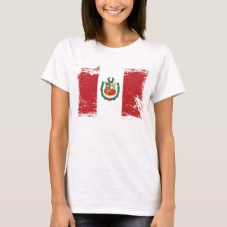 Grunge Peru Flag T-Shirt