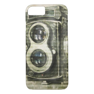 Grunge photographer photography Vintage Camera iPhone 8/7 Case