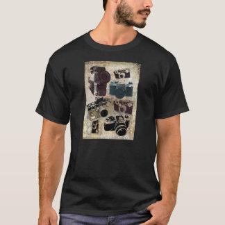 Grunge photographer photography Vintage Camera T-Shirt