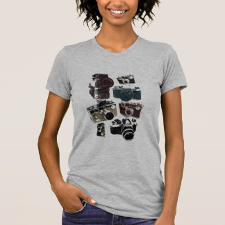 Grunge photographer photography Vintage Camera T-Shirt