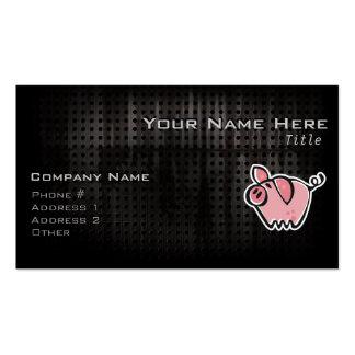 Grunge Pig Pack Of Standard Business Cards