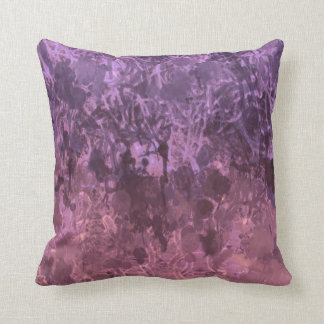 """Grunge"" pillow in purple/pink. Definitely chaotic Cushions"