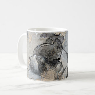 Grunge Pitbull terrier Coffee Mug