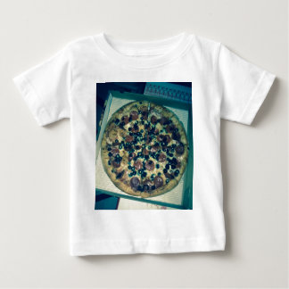 Grunge pizza apparel and items baby T-Shirt