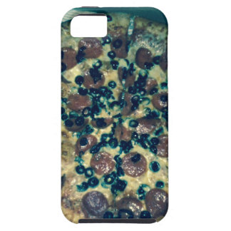 Grunge pizza apparel and items tough iPhone 5 case