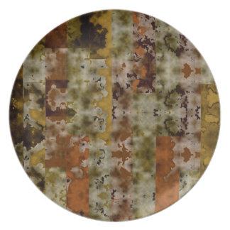 Grunge Plate