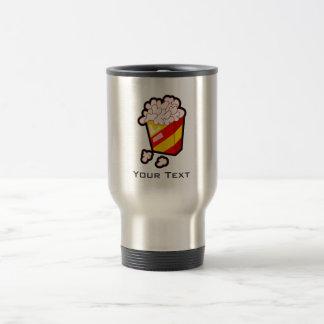 Grunge Popcorn Travel Mug
