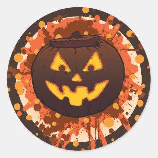 Grunge Pumpkin Small / Large Sticker Sheet