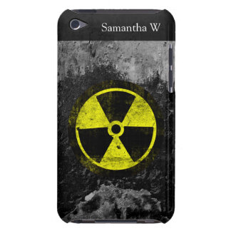 Grunge Radioactive Symbol Barely There iPod Cover