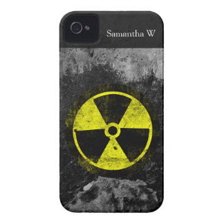 Grunge Radioactive Symbol iPhone 4 Covers