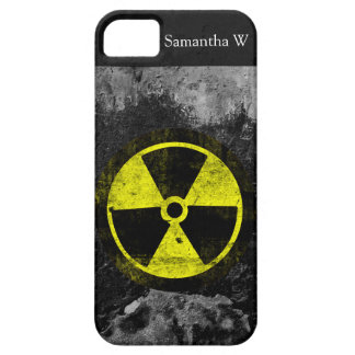 Grunge Radioactive Symbol Case For The iPhone 5