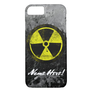Grunge Radioactive Symbol Cool Vintage Mens Guys iPhone 7 Case