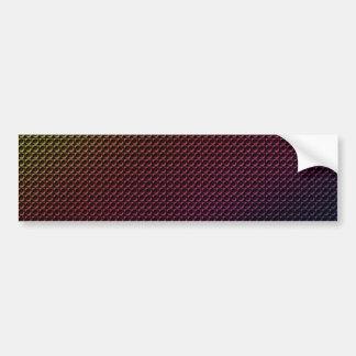Grunge Rainbow Bumper Sticker