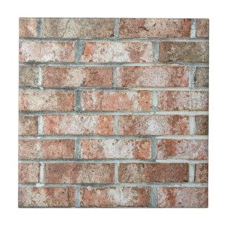Grunge Red Brick Wall Brown Bricks Background Tan Tile