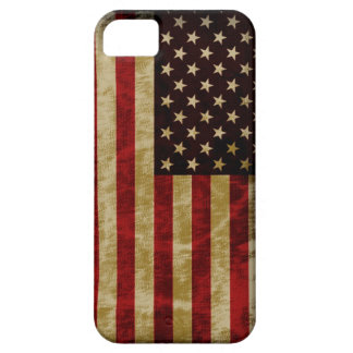 Grunge Retro Style USA Flag Old Glory iPhone 5 Cover