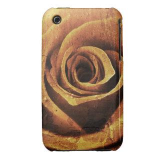 Grunge Rose Design Blackberry Curve case