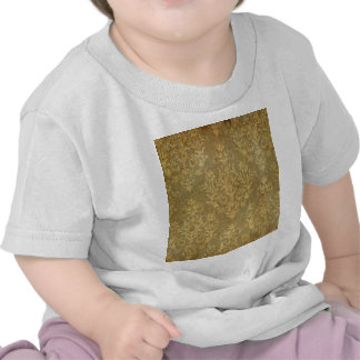 Grunge,rustic,damask,bronze,antique,victorian,chic T-shirts